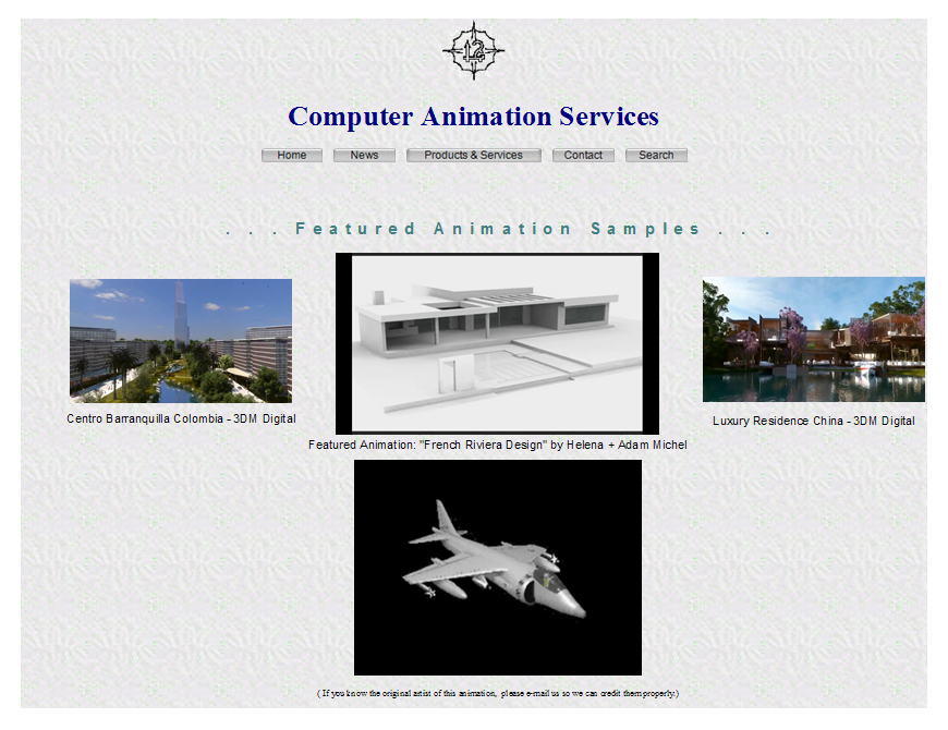 SSA Animation Services Brochure